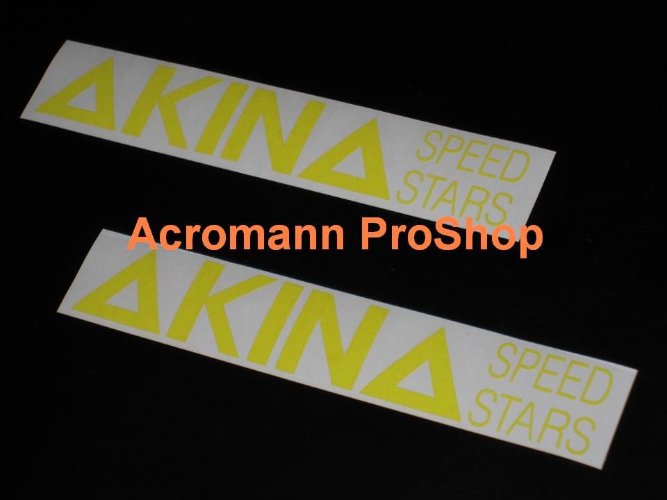 Initial D AKINA Speed Stars 6inch Decal (Style#1) x 2 pcs